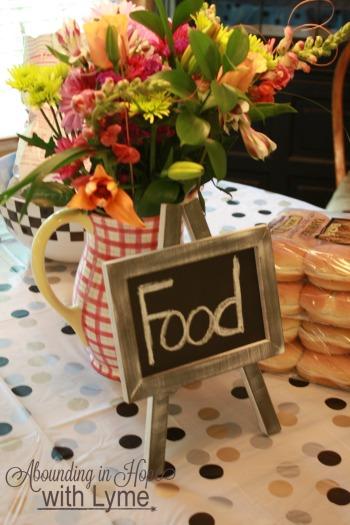 Graduation Food Table