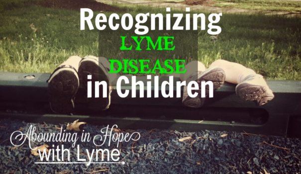 Recognizing Lyme Disease in Children