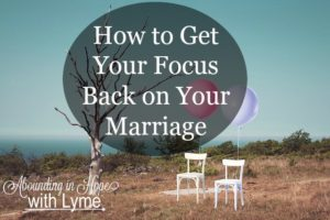 Refocus on your Marriage