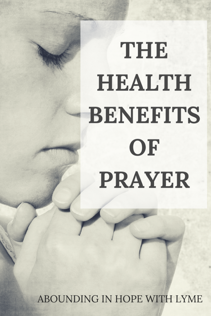 The Health Benefits of Prayer