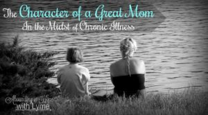 The Character of a Great Mom