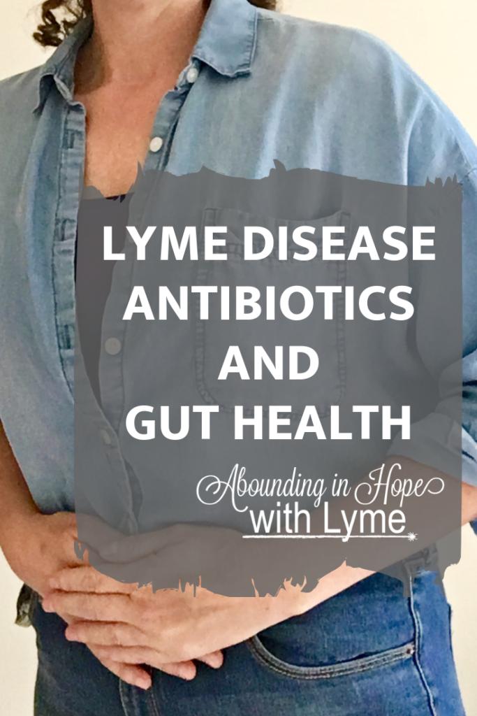 LYME DISEASE ANTIBIOTICS AND GUT HEALTH Pinterest - Personal Image