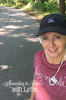 Tricia's Post and Pre-surgery walk routine