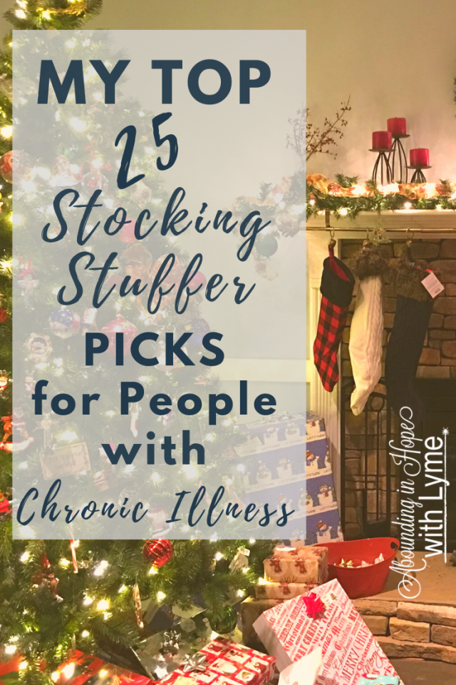 Top 25 Stocking Stuffer Picks for People with Chronic Lyme