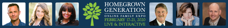 Homegrown Generation Online Family Expo