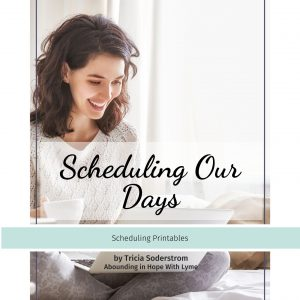 Scheduling Our Days Printables