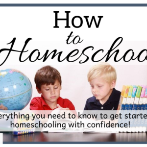 How to Homeschool Course