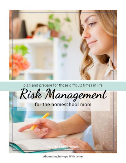 Risk Management eBook for the Homeschool Mom